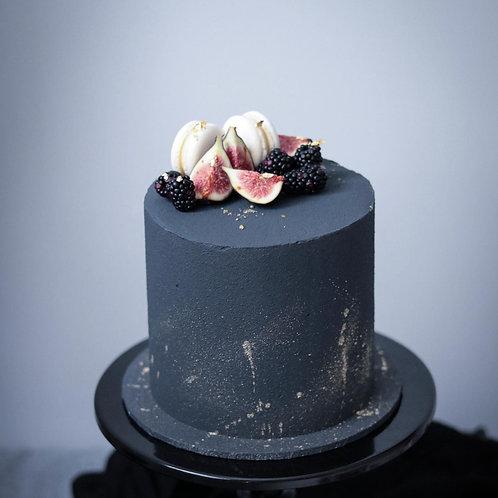 Macarons Gilded Fruits Cake for Men