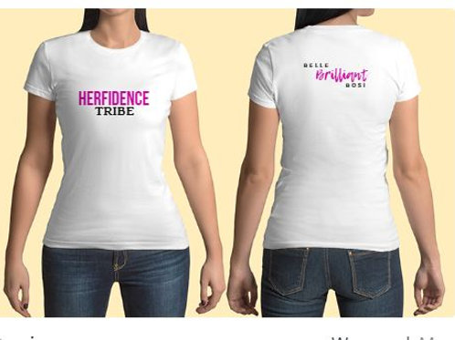 Pre-order Herfidence Tshirts For conference