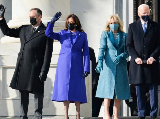 Congratulations to President Biden, VP Harris, and their families!