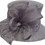Thumbnail: Women's Designer Straw Sinamay Derby Mothers day Easter Sunday Hat #SW9063