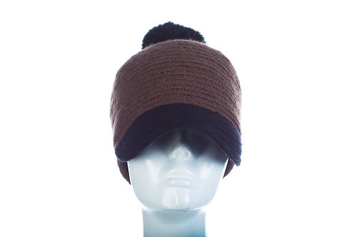 Fall-Winter Chenille Pom Pom Cap - Style No. 57-59