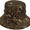 Thumbnail: Designer Lace Covered Straw Hat - Style# SM8041