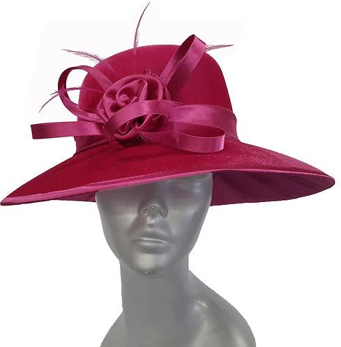 SW9012 - Velvet Showstopper Hat