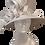 Thumbnail: Dressy metallic ribbon satin ribbon church hat is perfect for Church, Mother's