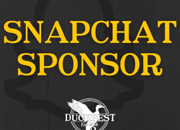Snapchat Sponsor