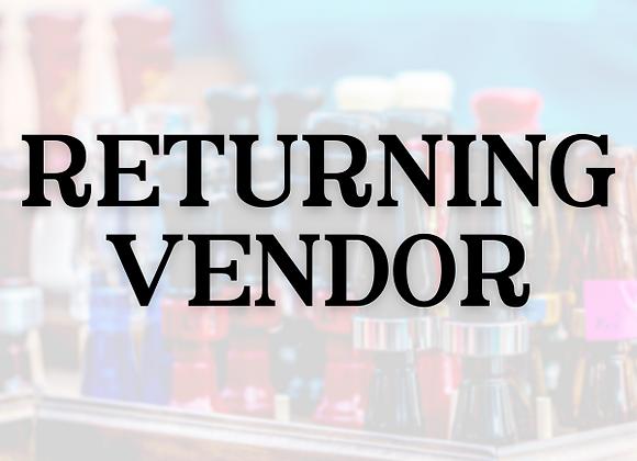 Vendor - Returning