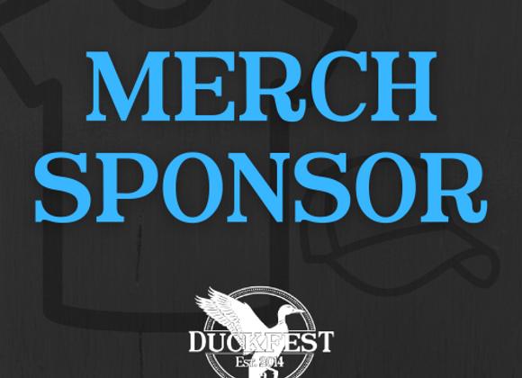Merchandise Sponsor