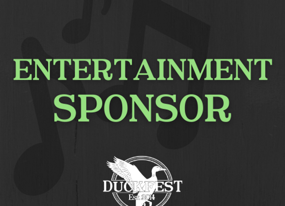 Entertainment Sponsor