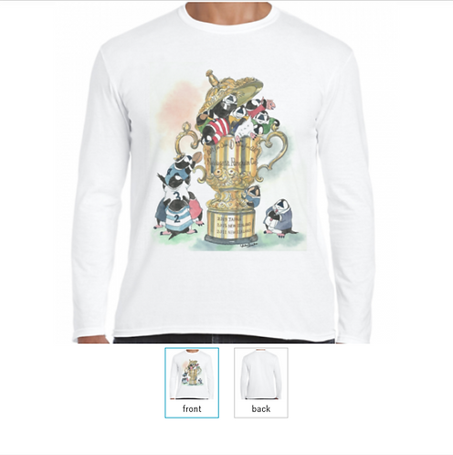 なでがたペンギンカップ 長袖Tシャツ