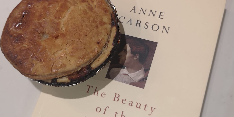 Poetry and Pie Night