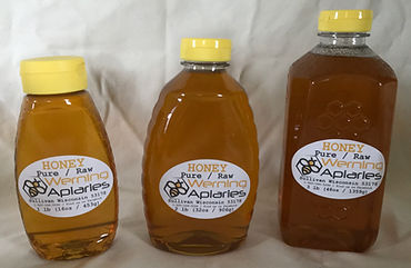 Pure Natural Raw Honey For Sale Sullivan WI Werning Apiaries