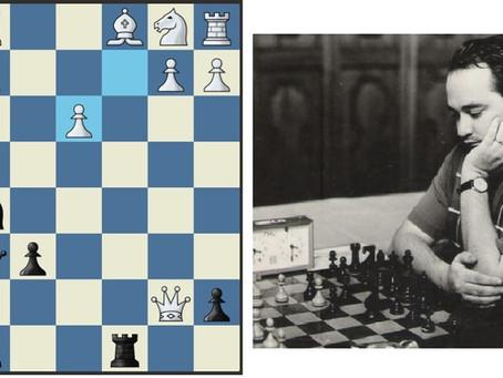 Robert Huebner - Alexandru Segal 0-1                                     Dresden 1969