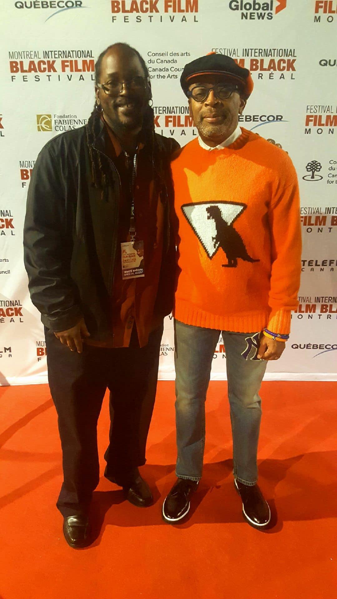 Brian Shackelford & Spike Lee