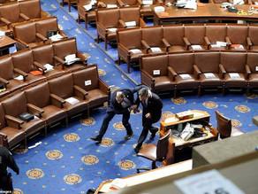 امیر طاهری - شورش نمایشی در واشنگتن و دموکراسی در آمریکا