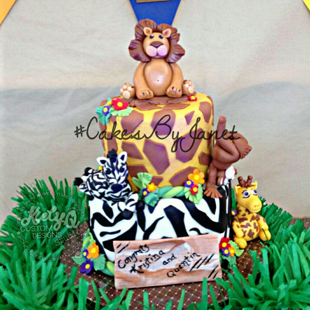 SAFARI JUNGLE CAKE