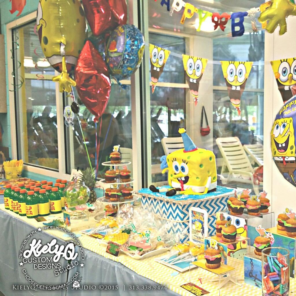 MJs Spongebob Splash Bash - Kiely Q Events (1)