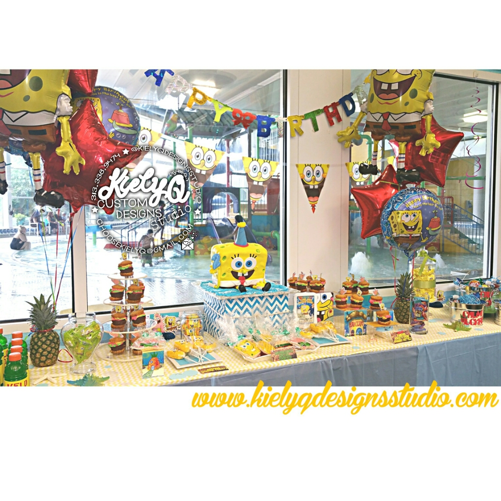 MJs Spongebob Splash Bash - Kiely Q Events (5)