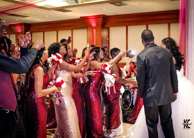 They had fun this night. #WeddingReception Photography 🌹🥀_Photographer_ _kc.cre8s _Event Manager &
