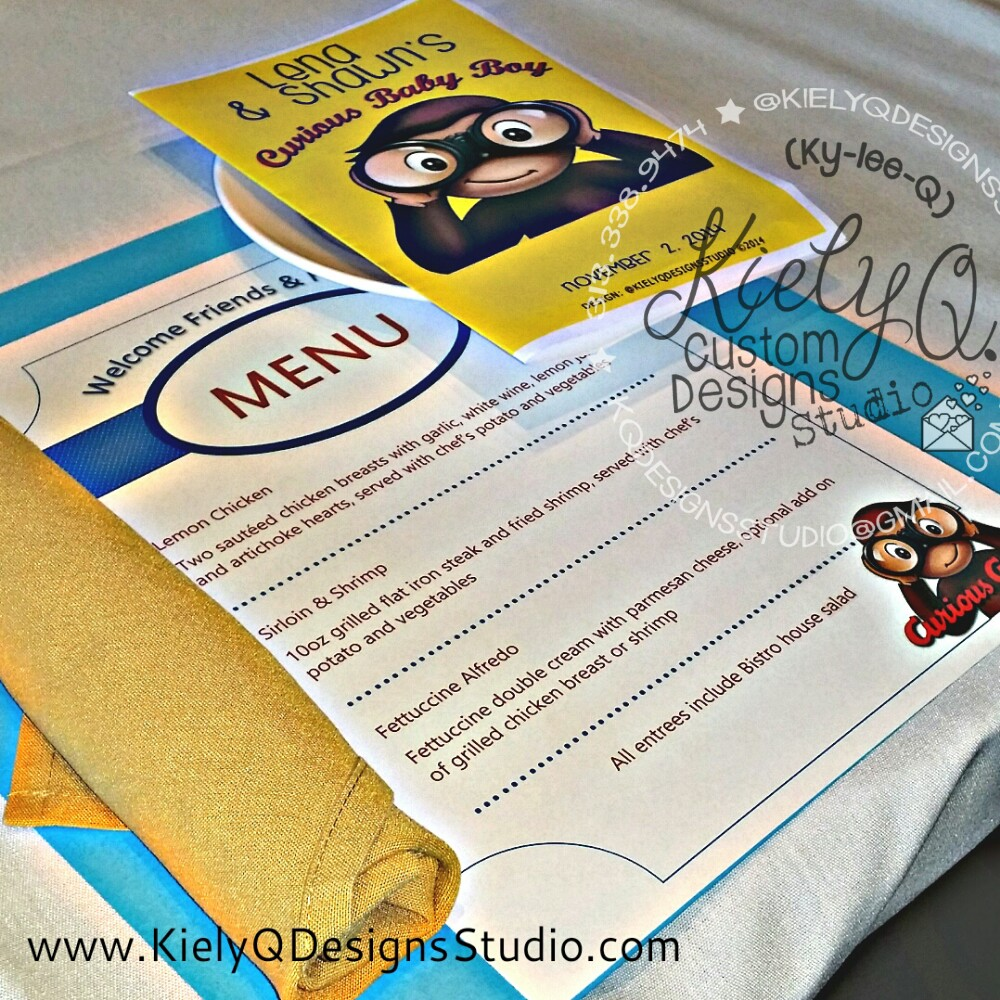 Curious George Inspired Baby Shower