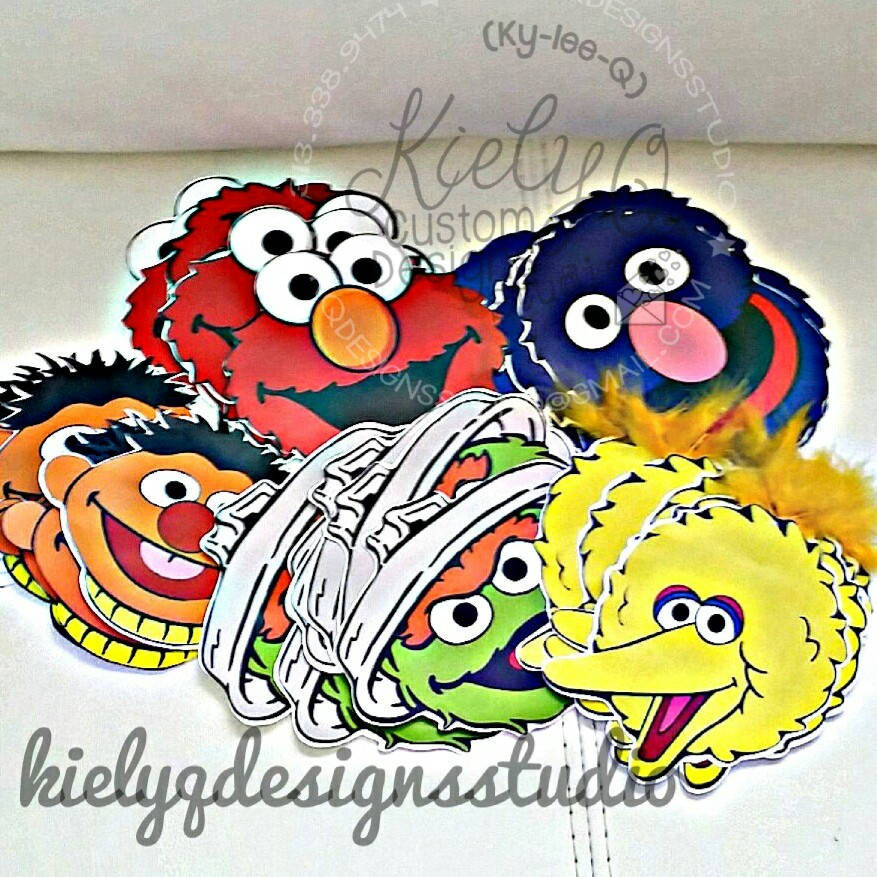 Sesame Street Faces
