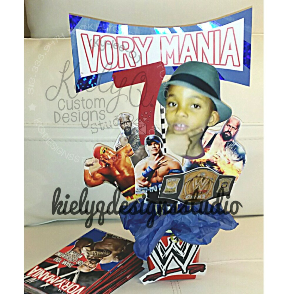 VoryMania WWE Centerpiece
