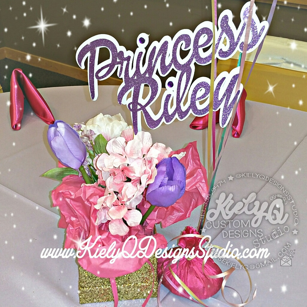 PRINCESS RILEY BABY SHOWER