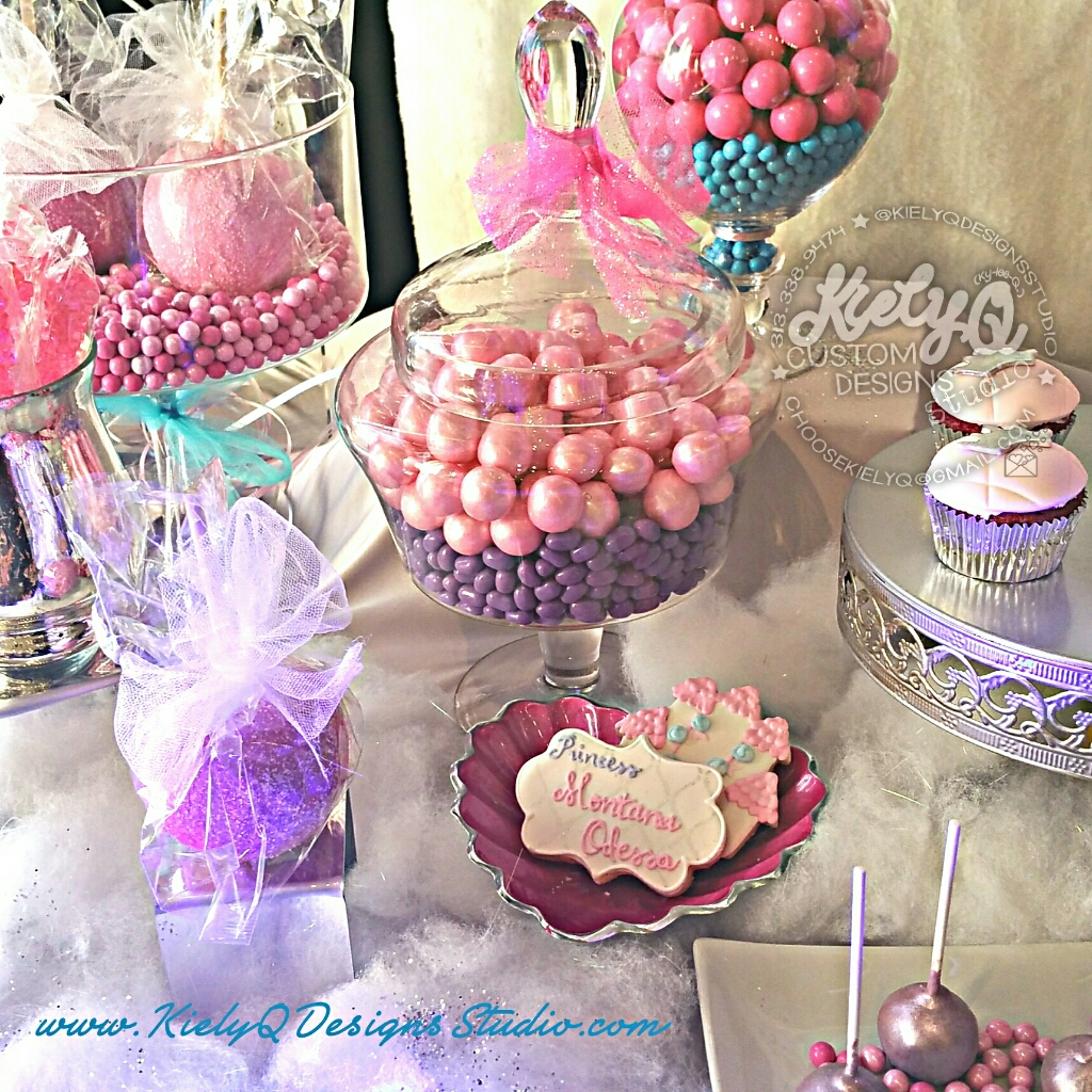 Ice Princess Baby Shower Event