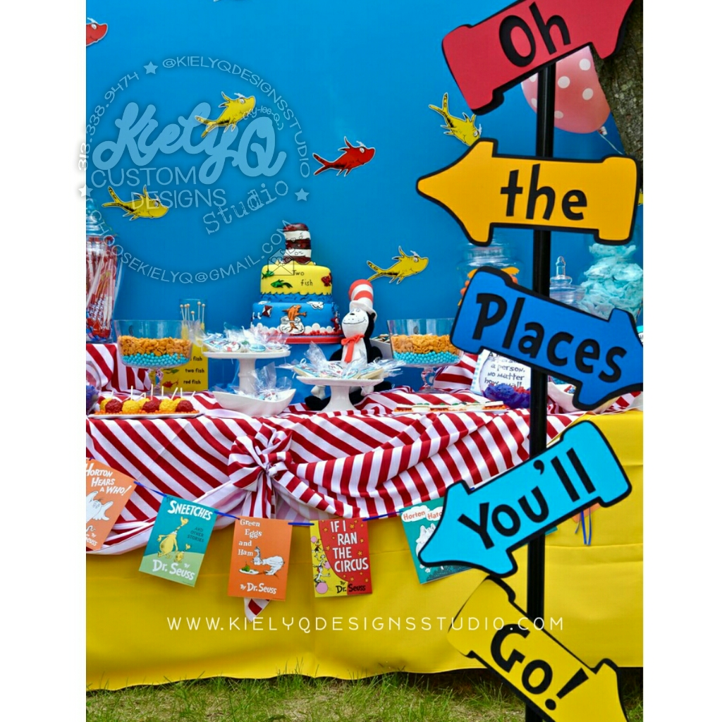 Dr. Seuss Baby Shower Event