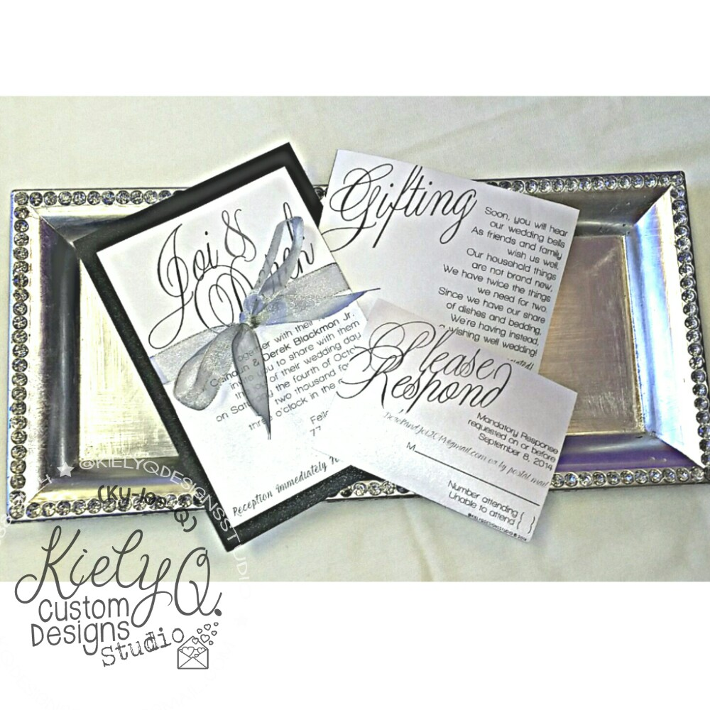 Kiely Q Wedding Invitation Suite