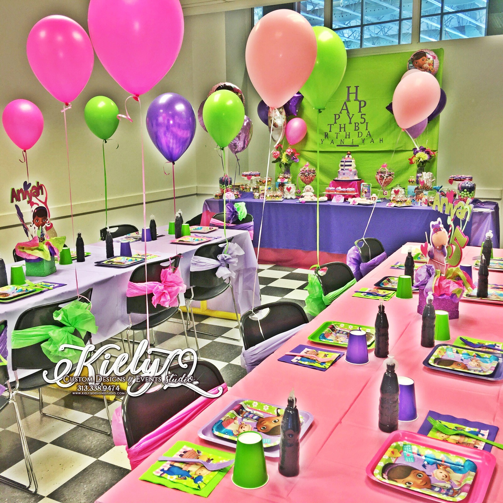 DocMcStuffins Birthday Party Event