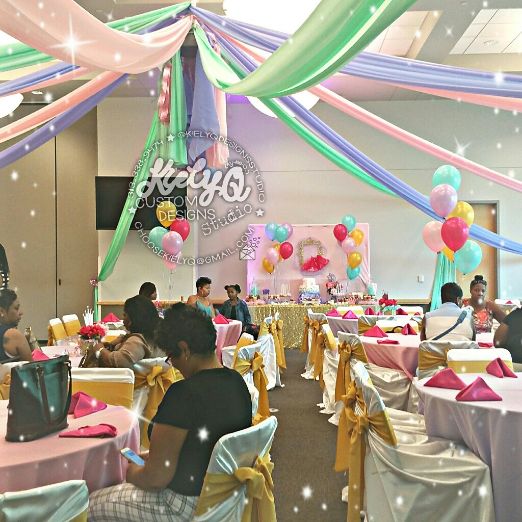 Princess Baby Shower Event