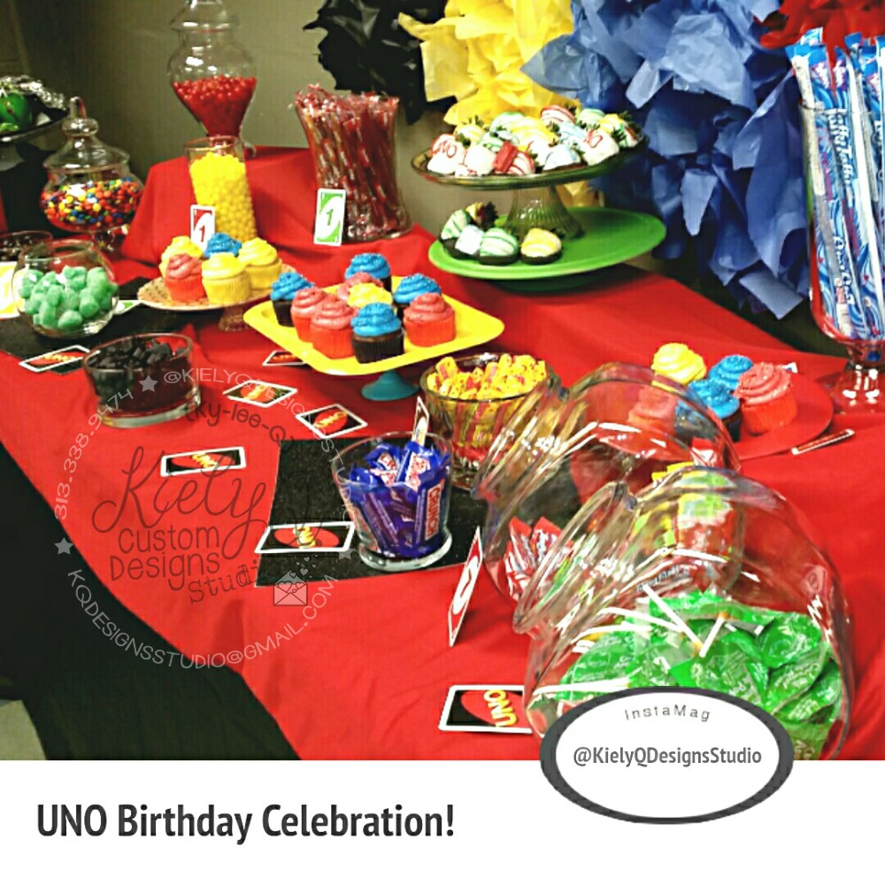 UNO! 1st Birthday Party