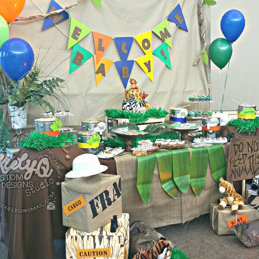 Jungle Safari Baby Shower Event
