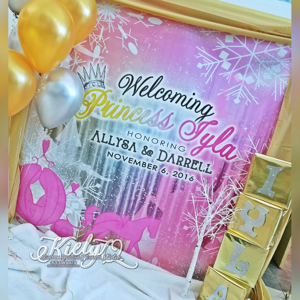 Ice Princess Iyla Baby Shower Event by Kiely Q_
