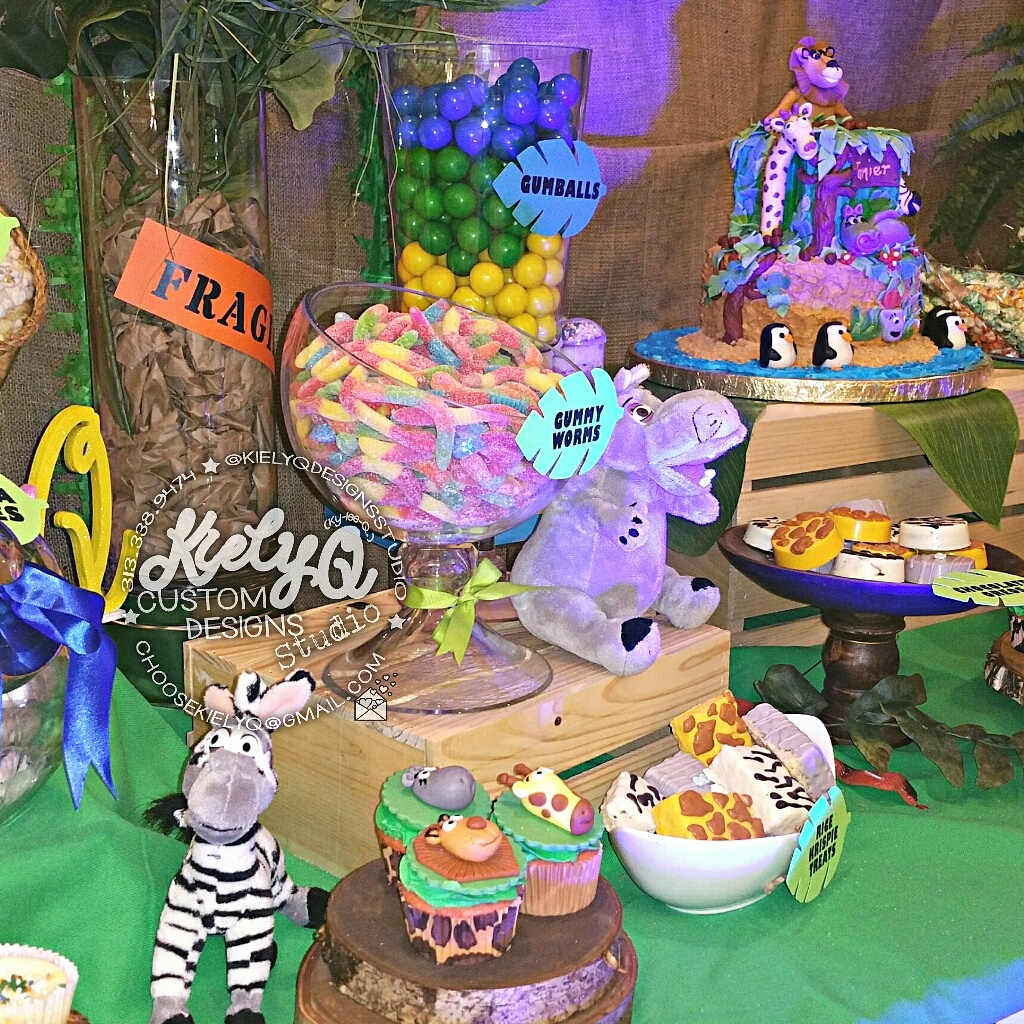 Madagascar Baby Shower Event by Kiely Q_