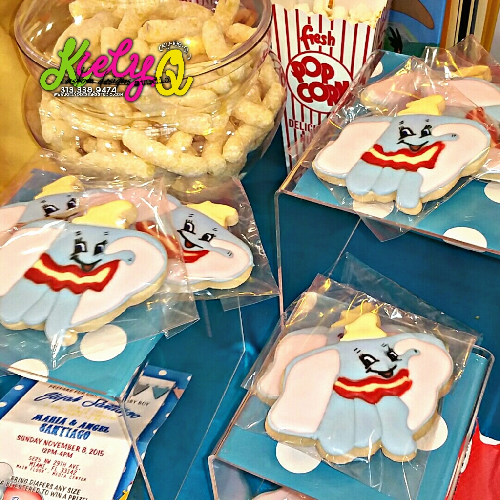 Dumbo Inspired Baby Shower, Miami FL