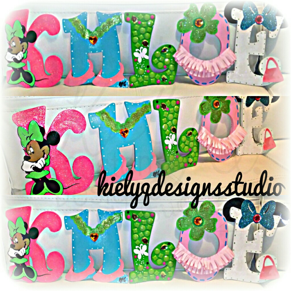 [Hand Painted Name Letters]