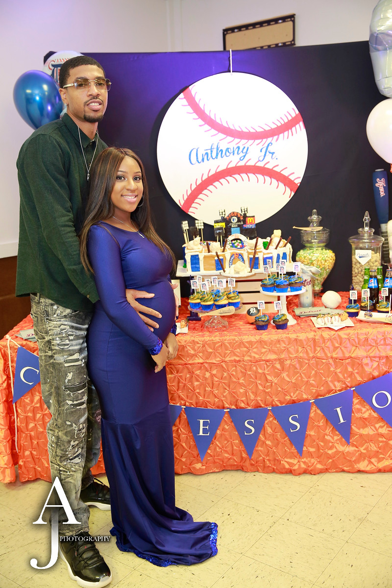 DETROIT TIGERS BABY SHOWER