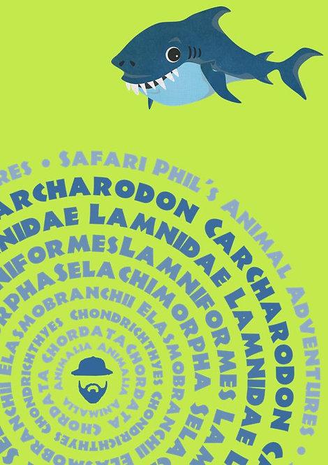 A6 Notebook 'Shark Species' Edition