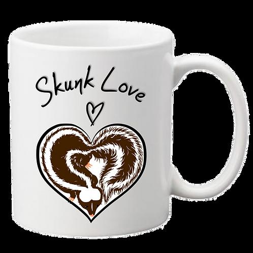 'Skunk Love' Mug