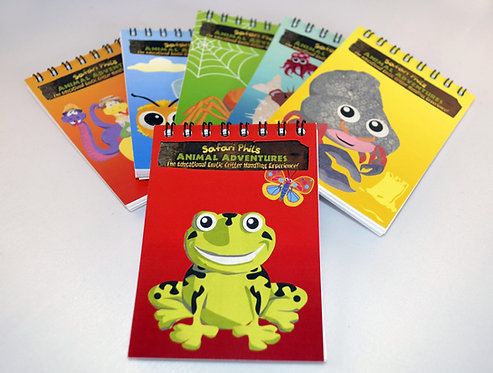 Notepad 6 pack (A7 size)
