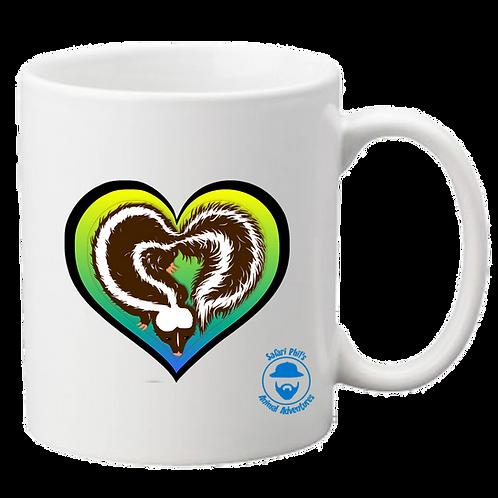 'Love Stinks' Skunk Mug