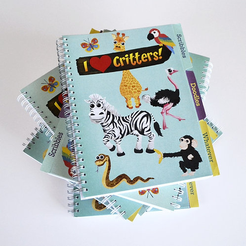 A5 Project Book 'I love Critters!' Edition