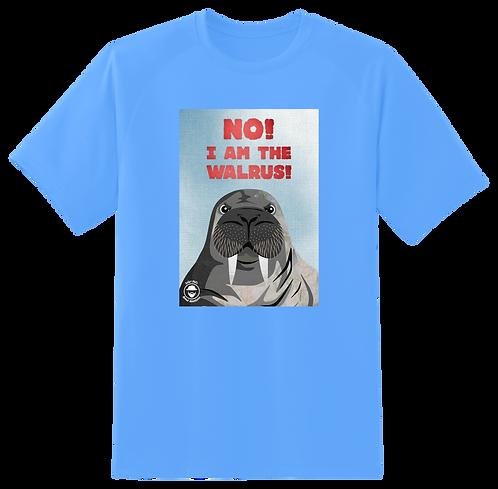 'No! I am the Walrus!' Light Blue T-Shirt Mens
