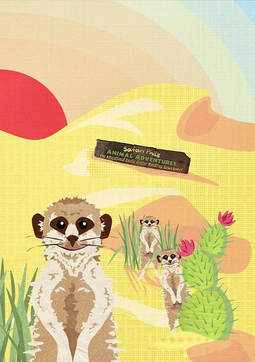 Habitat A5 Notebook 'Desert' Edition