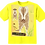 Thumbnail: 'Meerkat Body Board' Yellow T-Shirt Kids