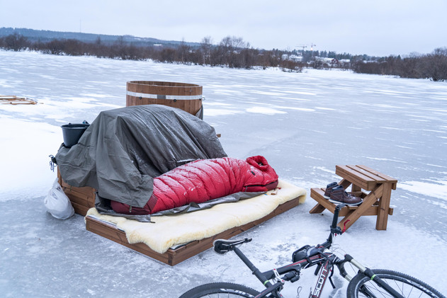 na rzece Ounasjoki