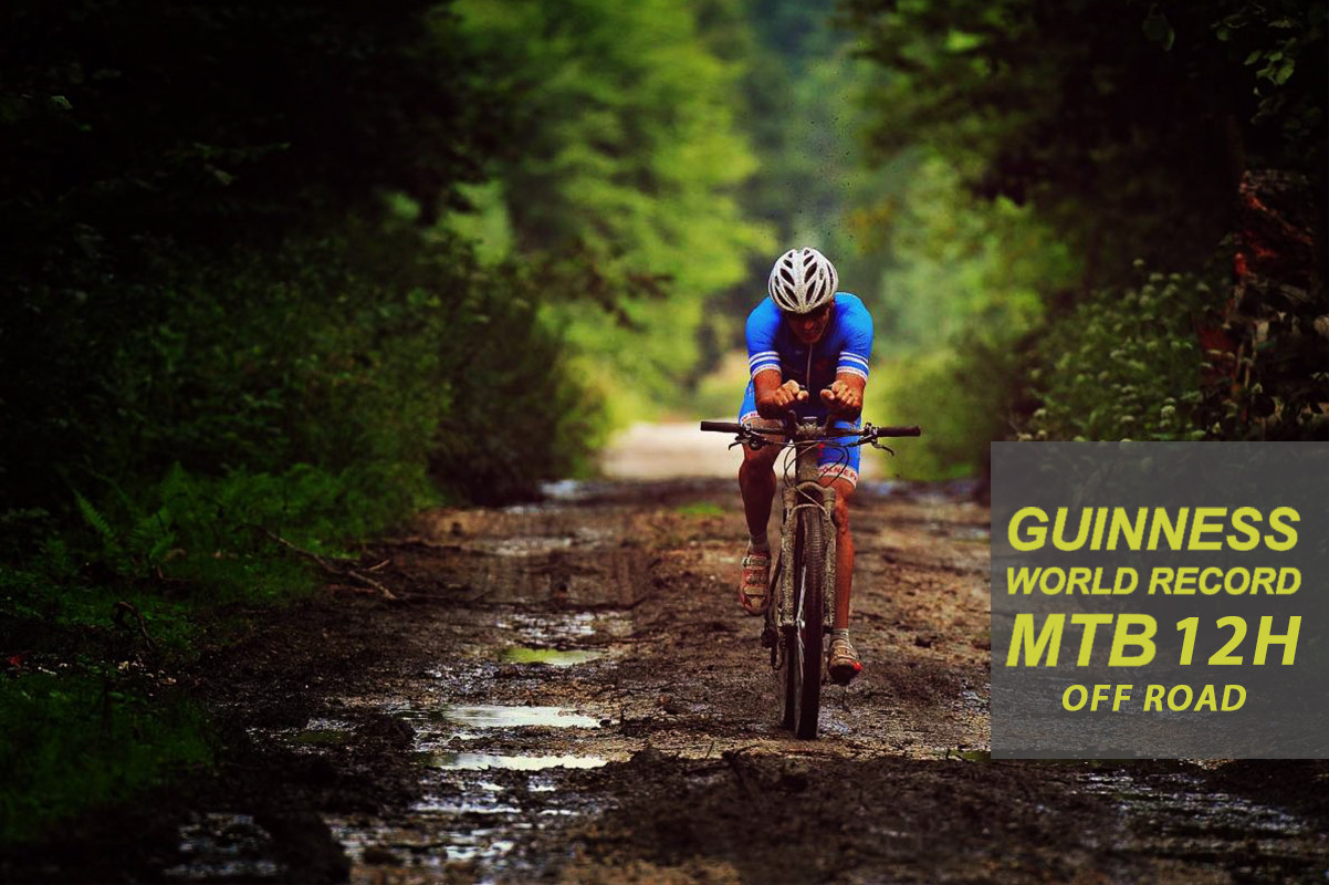 Record Guinnessa 12H MTB off road