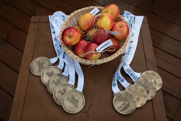 Medale dla uczestników Mistrzostw Polski