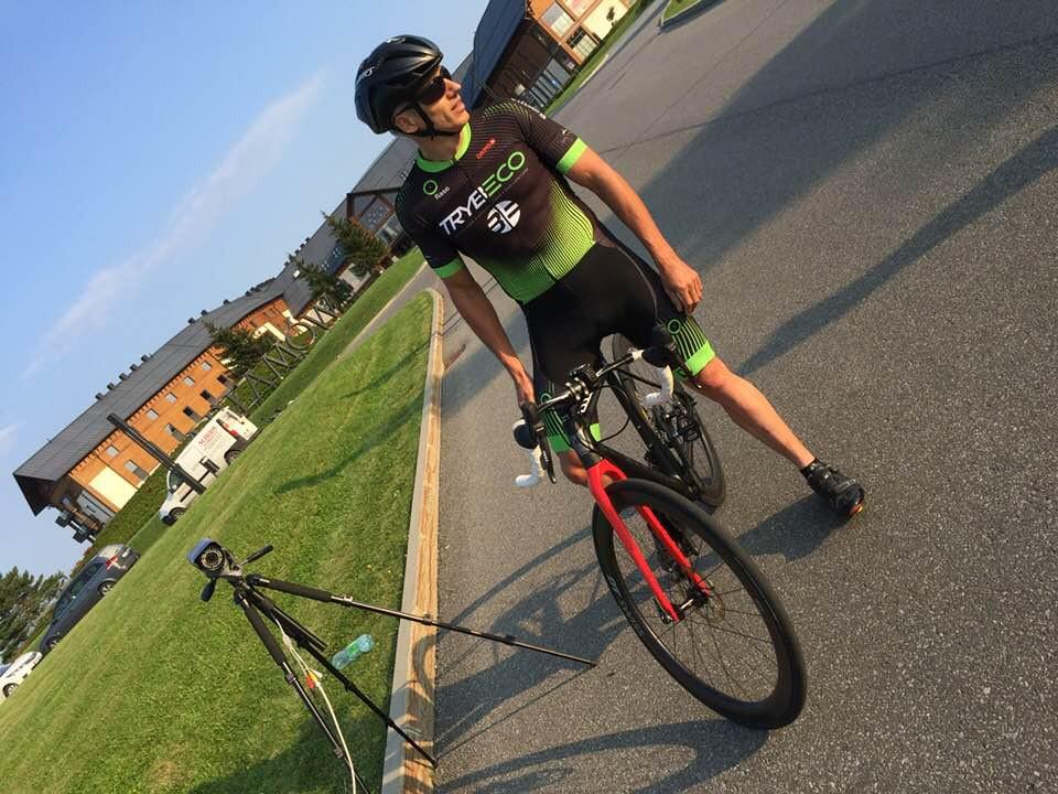 """Rekord Guinnesa """"Największe przewyższenie w jeździe na rowerze przez 12 h"""""""